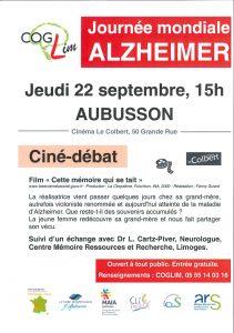 cine-debats Maladie d'Alzheimer